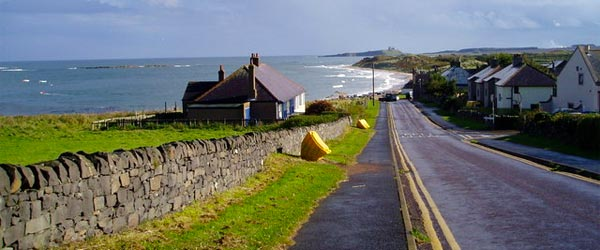 A small coastal town on the rugged coast of Northumberland.