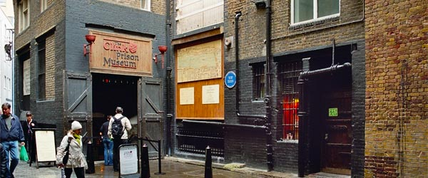 An exciting exploration of London's scary past awaits anyone brave enough to enter The Clink.