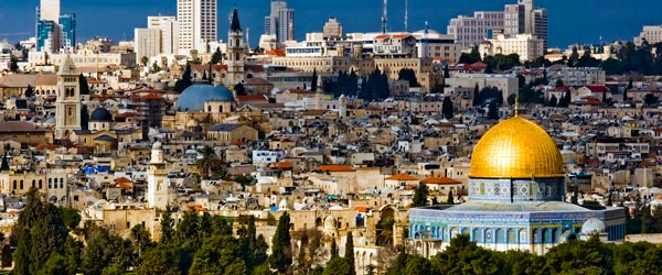 Jerusalem is a holy city in a holy land. Explore Israel and the Middle East.
