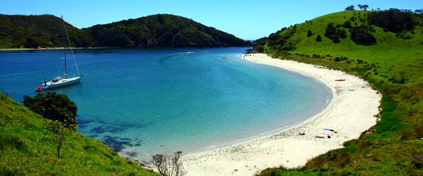 Paihia has some of the most beautiful beaches in New Zealand.