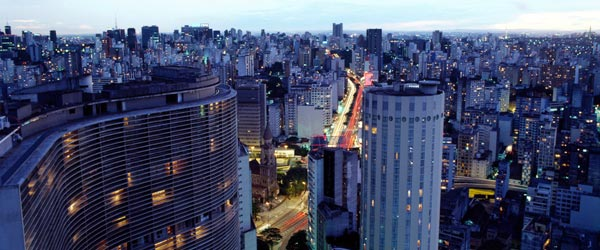 Sao Paulo, with over 20 million residents, is one of the world's largest cities.
