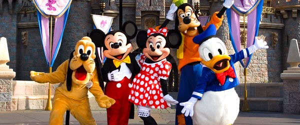 Your favorite childhood characters are alive and well at Disneyland!