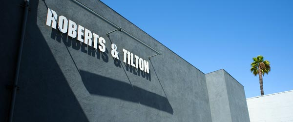 The Roberts and Tilton Gallery is one of the cool galleries in Culver City.