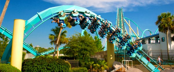 Kraken is considered one of the world's best roller coasters!