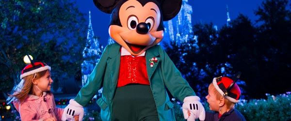 Mickey has welcomed children to the Magic Kingdom for over 40 years.