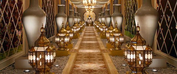 If the hallways are this nice, imagine what the spa's facilities look like! Photo credit Wynn Las Vegas.