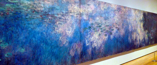 Monet's room-sized Water Lilies is one of the highlights of the MOMA.