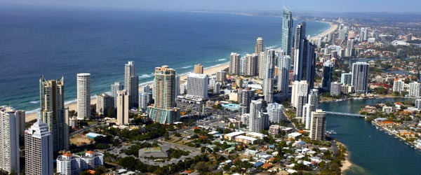 Gold Coast is Australia's answer to Miami Beach.