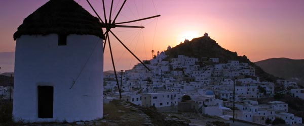 A windmill on the Greek island of Ios.