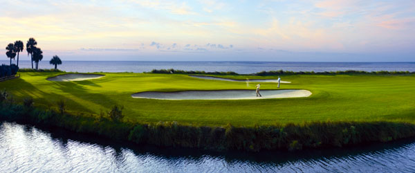 One of the seaside golf courses at the Fripp Island Golf & Beach Resort.