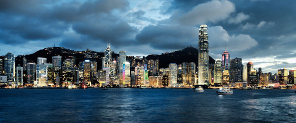 With a skyline like this who wouldn't want to spend a year or two in Hong Kong?