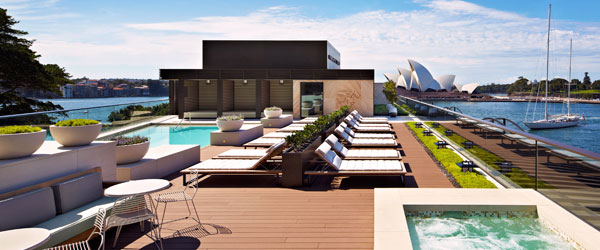 Oh yeah, did we mention there's a rooftop pool? Well, there's a rooftop pool.