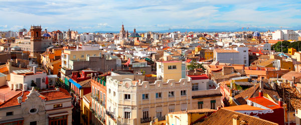 The rooftops of Valencia conceal a charming city of sidewalk cafes, plazas and chic restaurants.