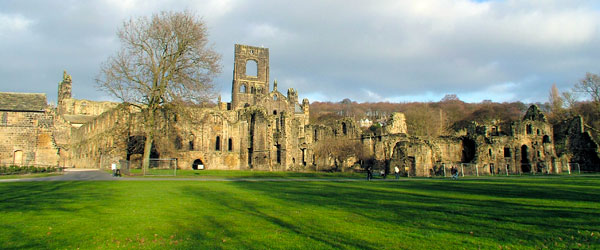The 12th century Kirkstall Abbey lies in ruins just north of Leeds and is a cool spot to visit.