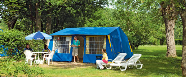 Campsites like this can be a lot of fun for families and are a great way to save money.