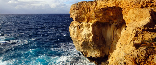 Gozo's Azure Window is one of the island's most prominent natural attractions.
