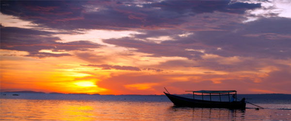A sunset from the shores of Lake Victoria on the Kenya Side. CC-SA