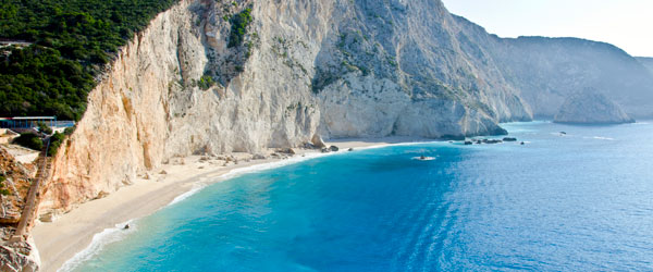 The cliffs of Lefkas are certainly breathtaking.