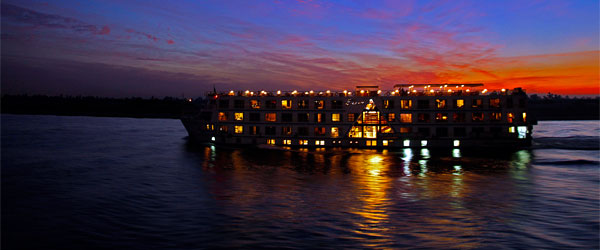 A dinner cruise along the River Nile at sunset is a welcome addition to any trip.