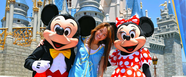 Even Miley Cyrus loves a visit to Orlando's Disney World!
