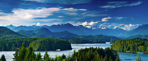 The stunning coastal scenery of the Pacific Rim National Park Reserve of Vancouver Island.