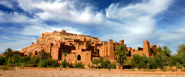 Aït Benhaddou is a UNESCO World Heritage Site in light of it being the best-preserved walled-city in the Atlas Mountains.
