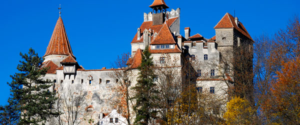 The Bran Castle in Transylvania's Brasov is strongly linked to the story of Dracula.