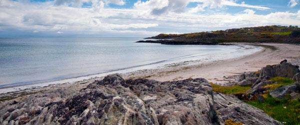 A remote beach on the Isle of Islay.