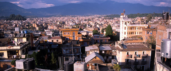 Kathmandu is Nepal's capital city and is where most volunteers will first arrive.