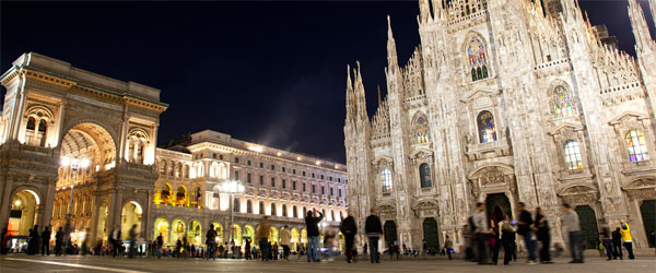 The Duomo is a gothic cathedral in the heart of Milan that took over six centuries to complete!
