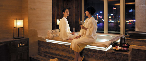 Stick around after your facial to enjoy the spa's views and facilities.