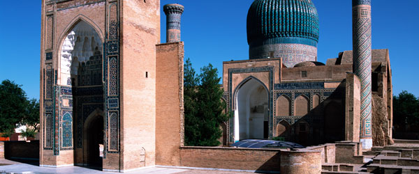 Samarkand and its incredible mosque is a designated UNESCO World Heritage Site.