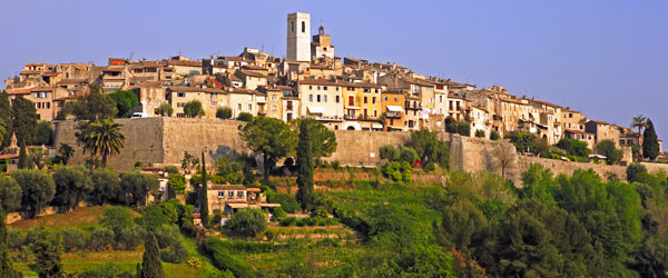 Saint-Paul-de-Vence is one of the best preserved Medieval towns in all of France.