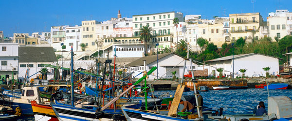 Like all great port cities, Tangier is seedy and full of hole-in-the-wall bars.