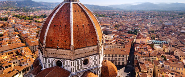 The magnificent Duomo up close and personal with its stunning views of the city.