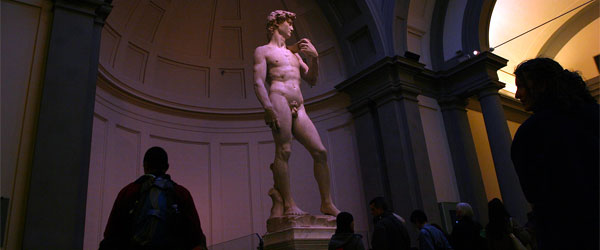Michelangelo's David is the preeminent piece of art from the Italian Renaissance.