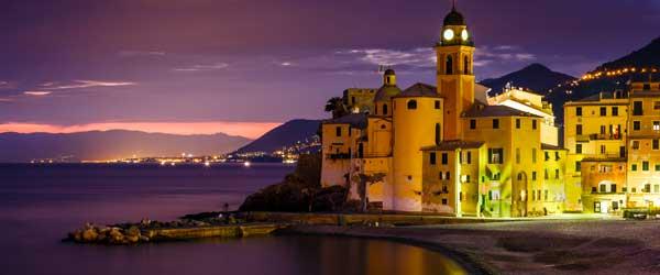Camogli, while popular, is a lot more down to earth than Portofino.