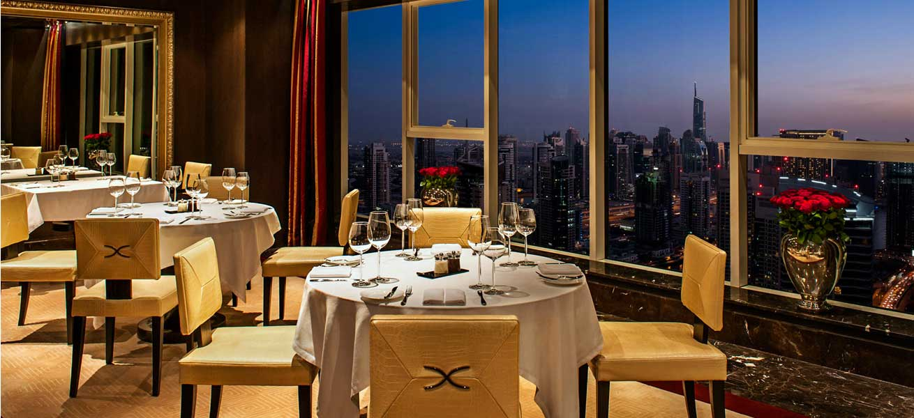 Fine dining in dubai restaurants with a view traveler 39 s for Luxury places in dubai