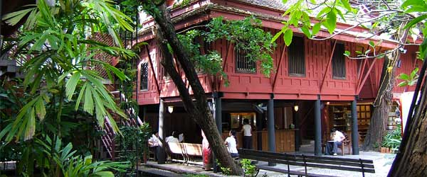 The Jim Thompson House and its grounds are well worth a visit.