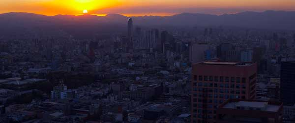 The fun is only just beginning when the sun sets on Mexico City.