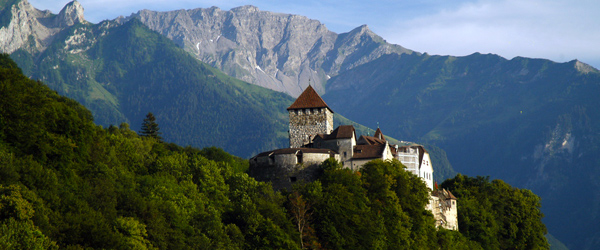 Vaduz Castle is the official residence of the Prince of Liechtenstein and sits on a hilltop overlooking Vaduz.