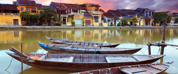 Hoi An is well known in Vietnam for its beauty and charm.