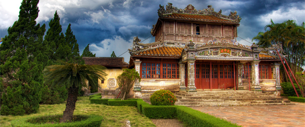 The 19th-century Hue Citadel is Vietnam's answer to the Forbidden City. Photo credit Espen Faugstad CC BY-SA.