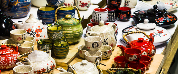 Some of the wares on sale at the Temple Street Night Market. Photo credit Martin Moscosa.