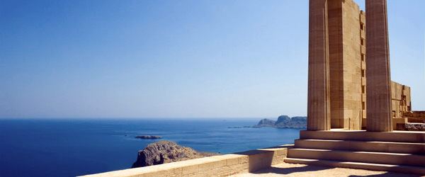 Lindos is a town on the eastern coast of Rhodes that's best known for its acropolis.
