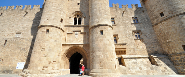 The Palace of the Grand Master of the Knights of Rhodes. What a cool name! Photo credit Jorge Láscar.