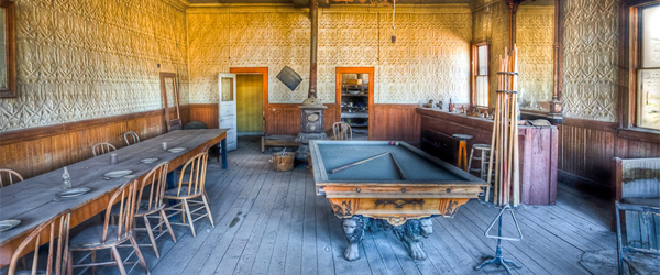 A look at the Bodie Saloon.