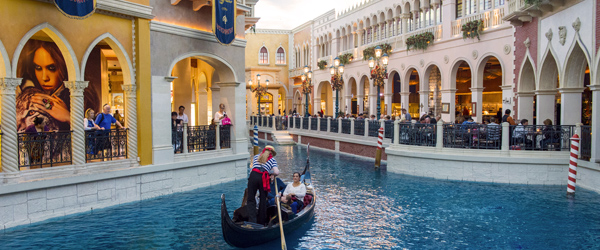 Honestly, the gondola rides in Las Vegas' Venetian are probably less touristy than the ones in Venice.