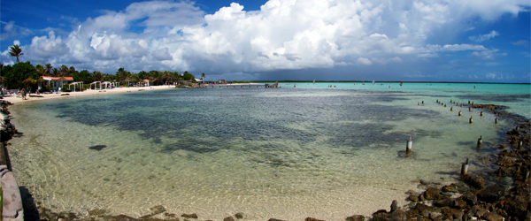 The view from Bonaire's Sorobon Beach Resort. Photo by Dennis AB/Flickr.