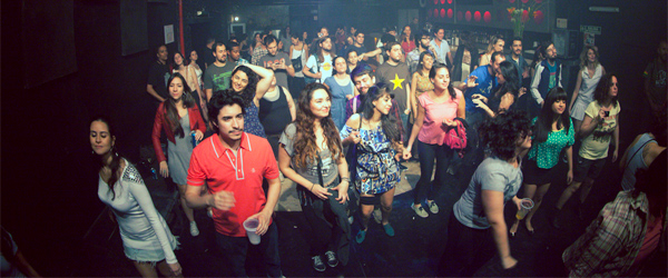 The hiptastic crowd at Niceto Club in Palermo. Photo credit Mombojó Oficial.